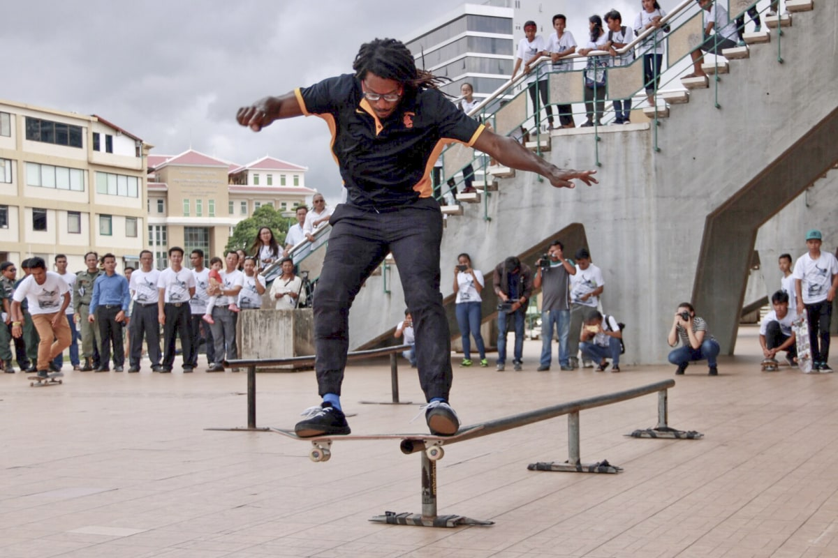 This US Sports Envoy Is Bridging Communities With Skateboarding