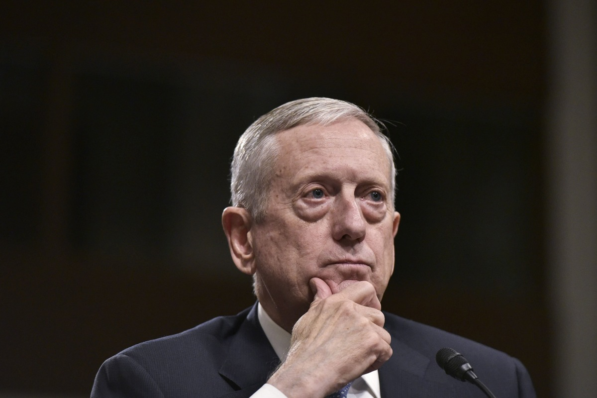Mattis says transgender service members can stay for now