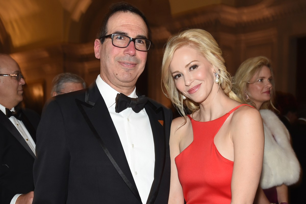 Treasury Secretary Mnuchin's wife defends wealth in Instagram tirade