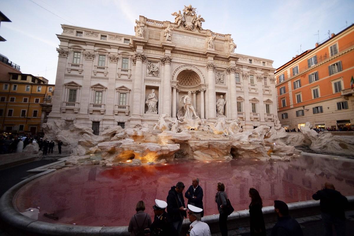 Image: ITALY-ROME-TREVI-FOUNTAIN