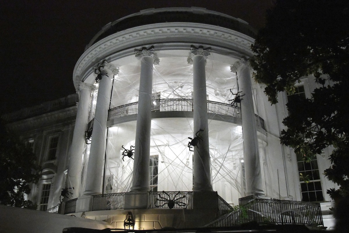 White House Gets Creepy For Halloween Nbc News
