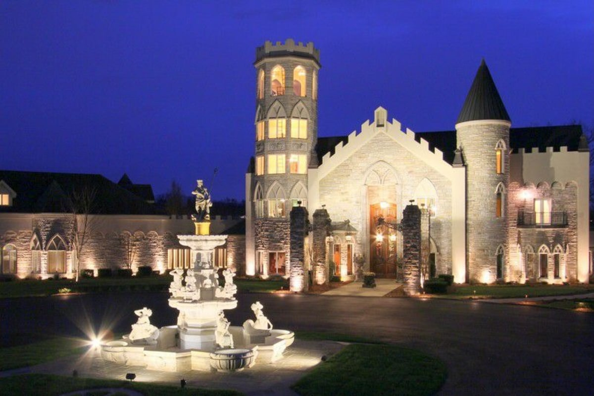 Race Cars For Sale >> For sale: Lavish Tennessee castle with race track - NBC News
