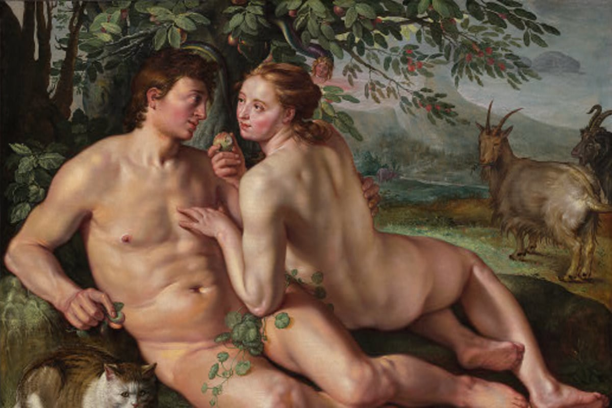 Adam And Eve Sex Pics genetic 'adam' and 'eve' traced — but they didn't know each