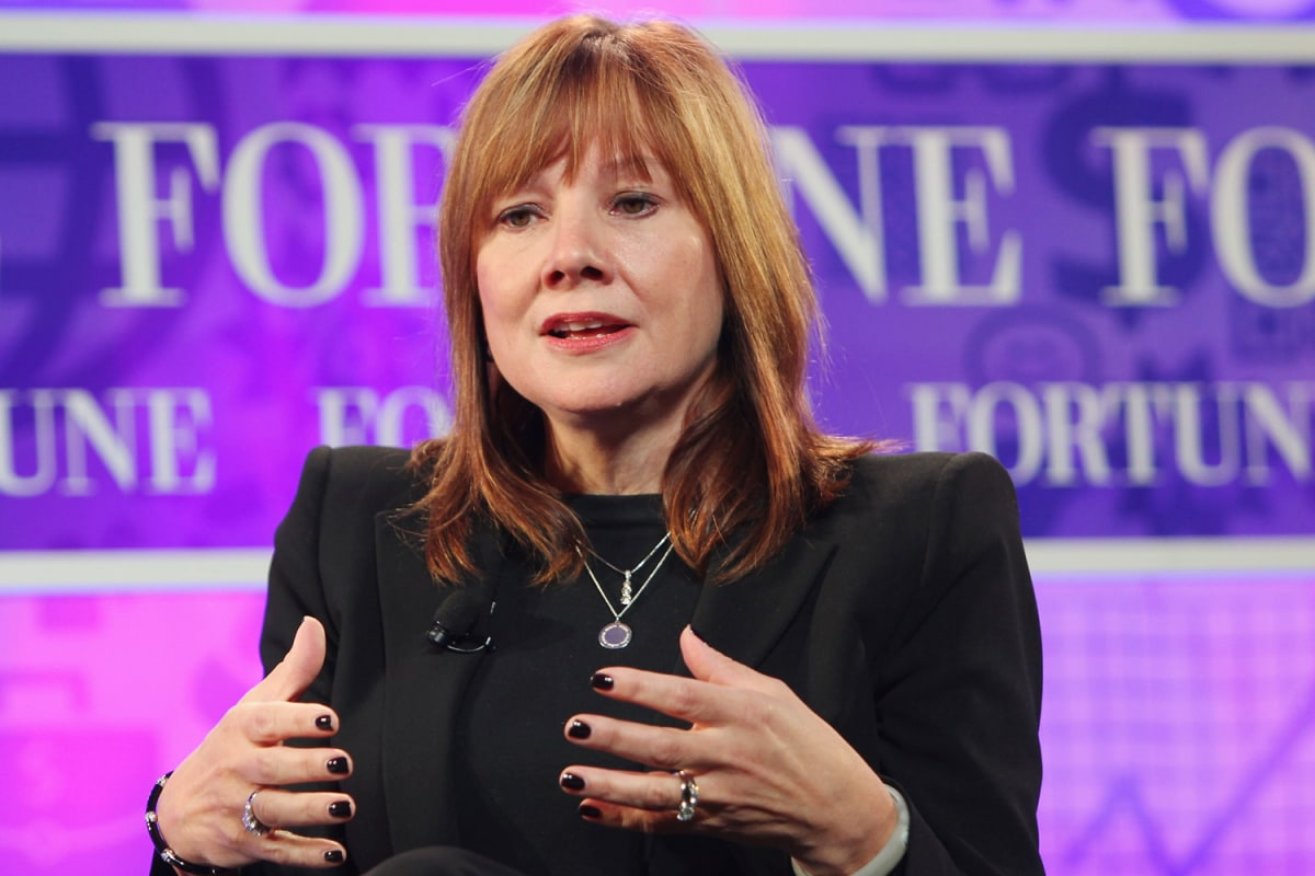 GM breaks Detroit's glass ceiling; names first female CEO ...