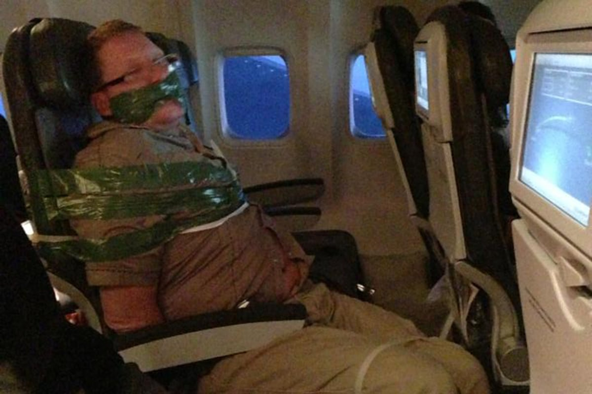Unruly Passenger Taped To Seat On Icelandair Flight Nbc News