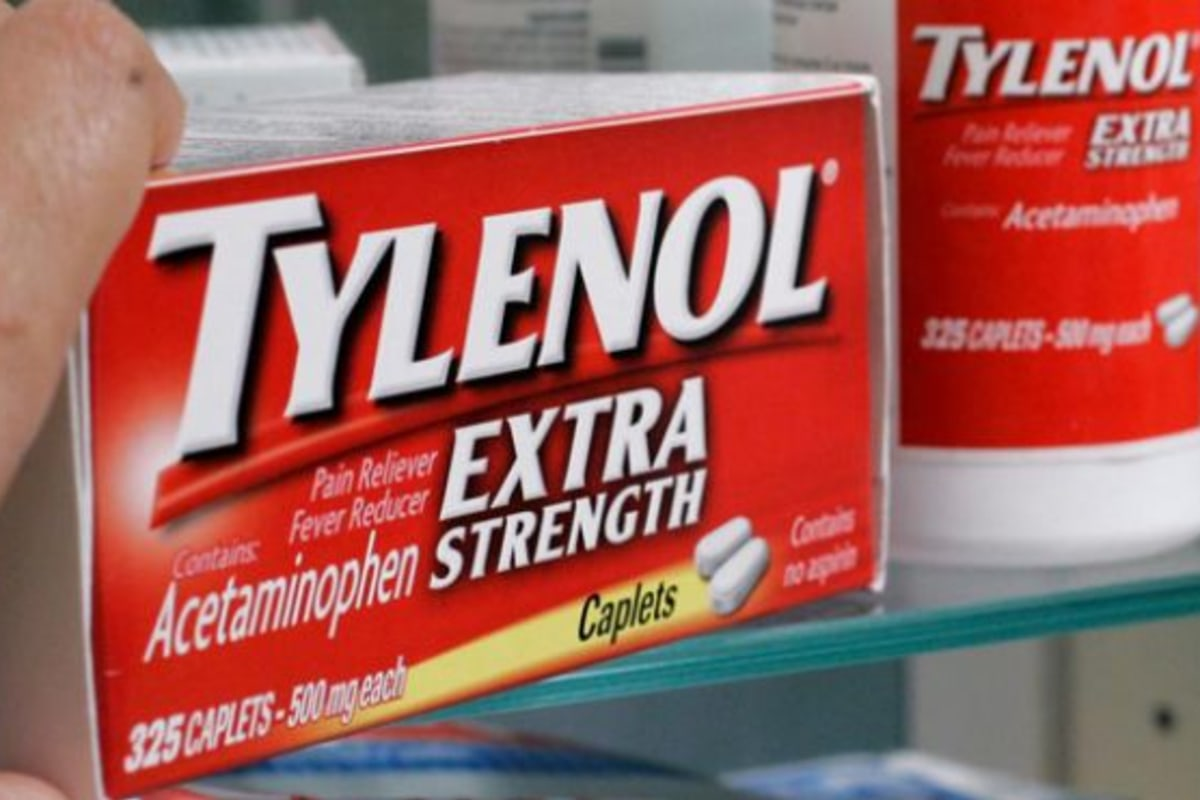 too much tylenol in pregnancy could affect child's development