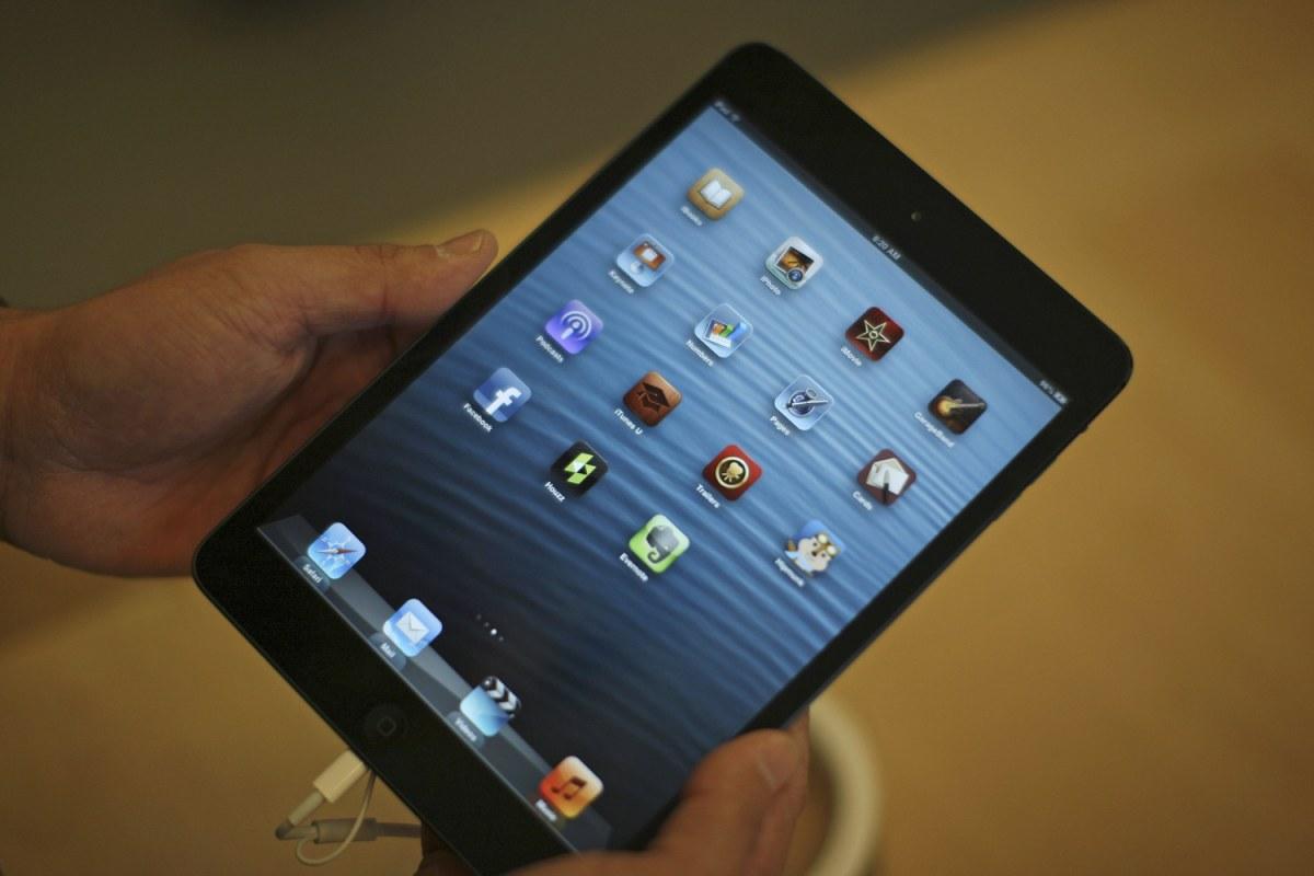 iPad rumors: Mini with Retina display, thinner, lighter ...Ipad Mini Retina Size