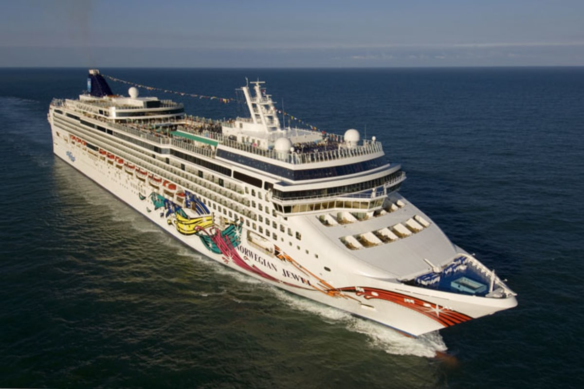 norwegian jewel cruise ship makes maiden voyage   nbc news