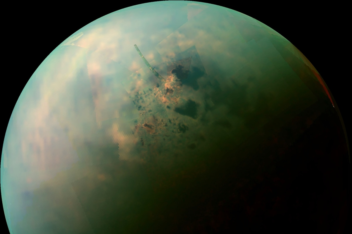 What's the weather like on Titan? 'Salt flats' provide new ...