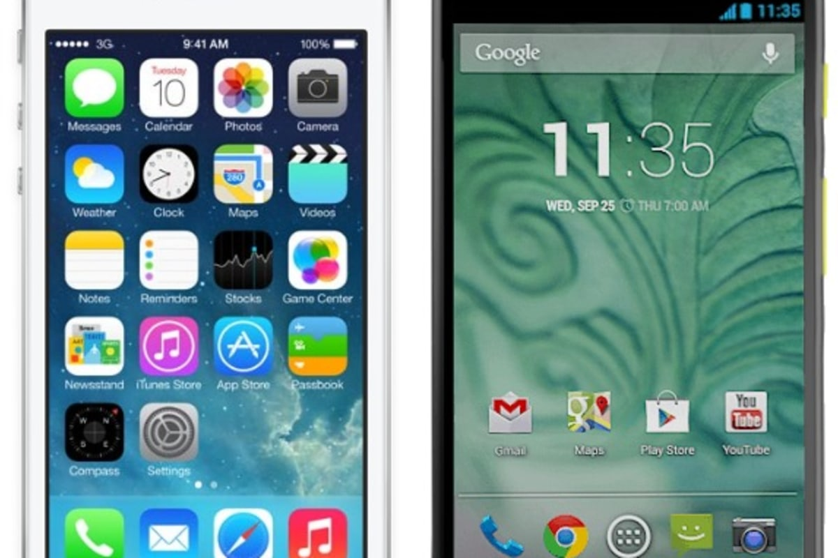 Android vs. iOS: The race has never been closer