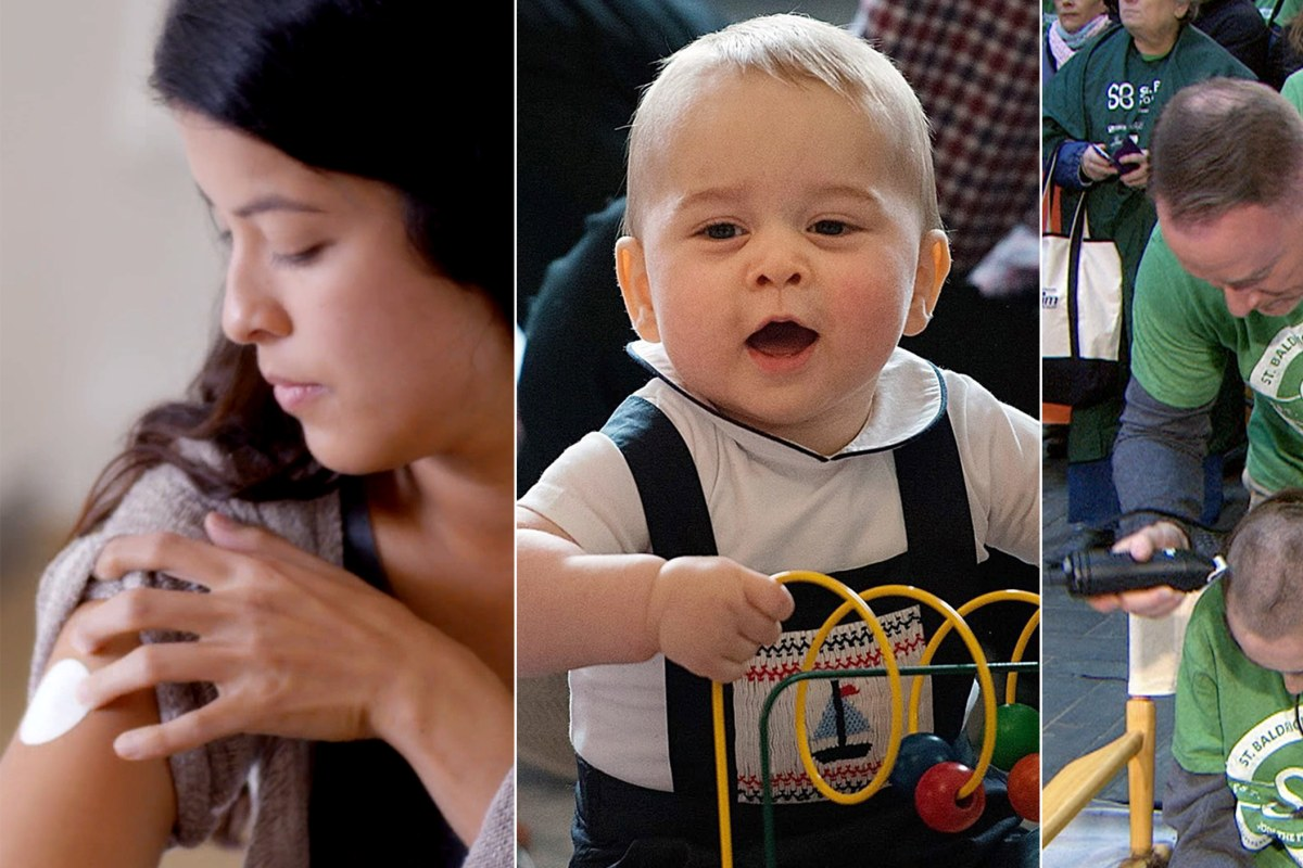 Today's Takeaway: Women test Dove's 'beauty patches'; Prince George has a playdate