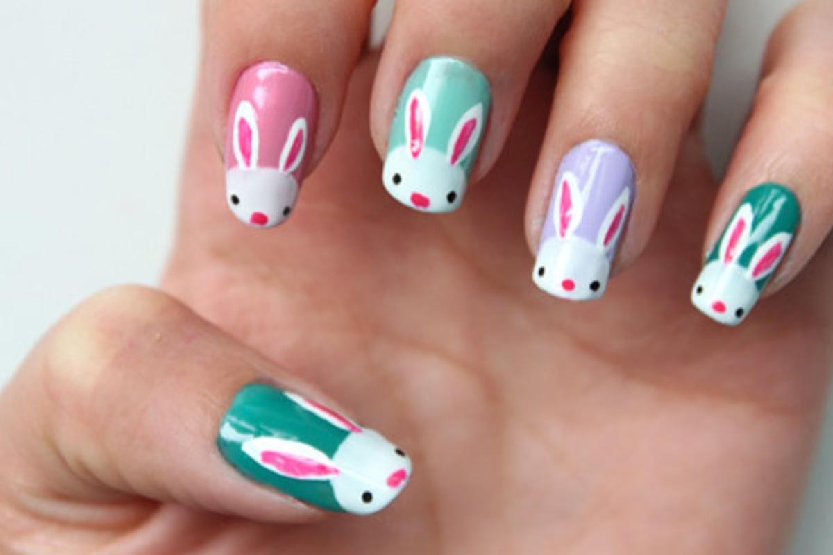 bunnies eggs 10 d i y easter nail art designs nbc news