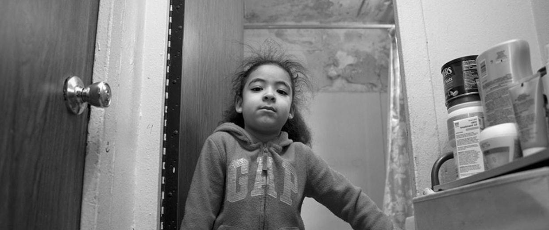 Image: Young asthma sufferer Amanda Santos