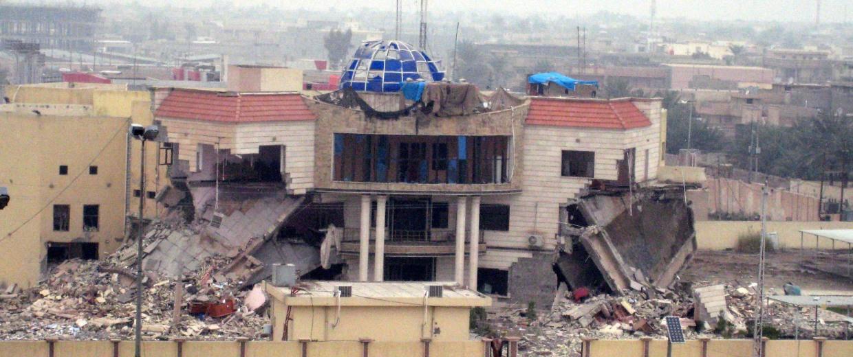 Image: Iraqi police retake Fallujah posts from insurgents