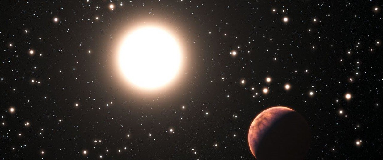 Image: Star and planet