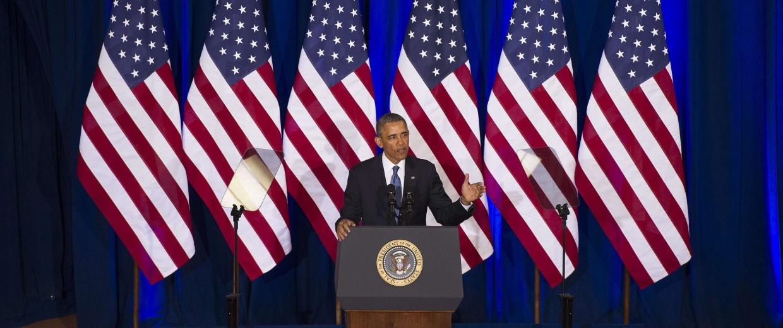 Image: US-POLITICS-OBAMA-INTELLIGENCE