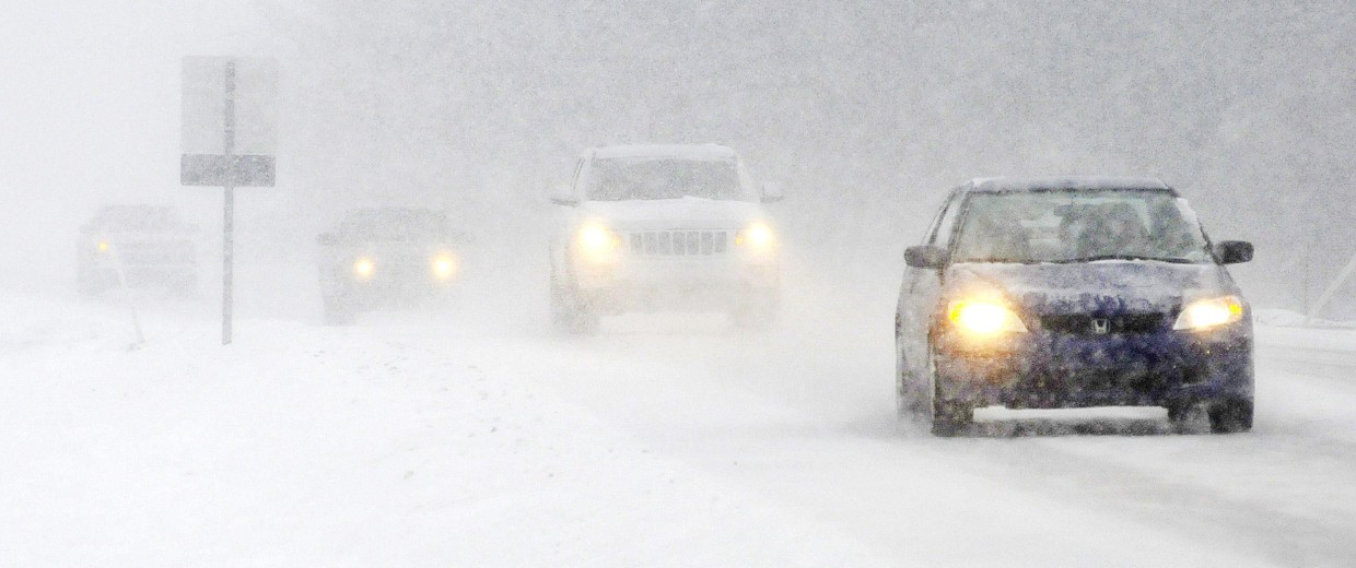 Image: Snow in Indiana