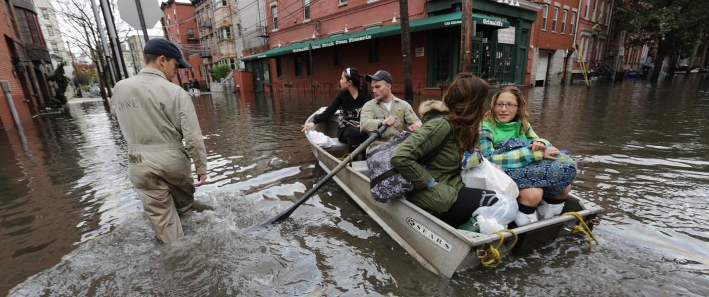 Image: Hoboken, N.J., after Hurricane Sandy struck in October 2012.