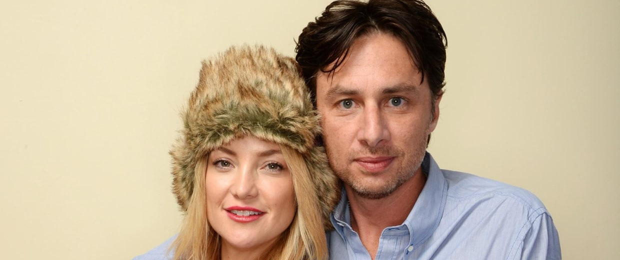 Image: Kate Hudson and Zach Braff