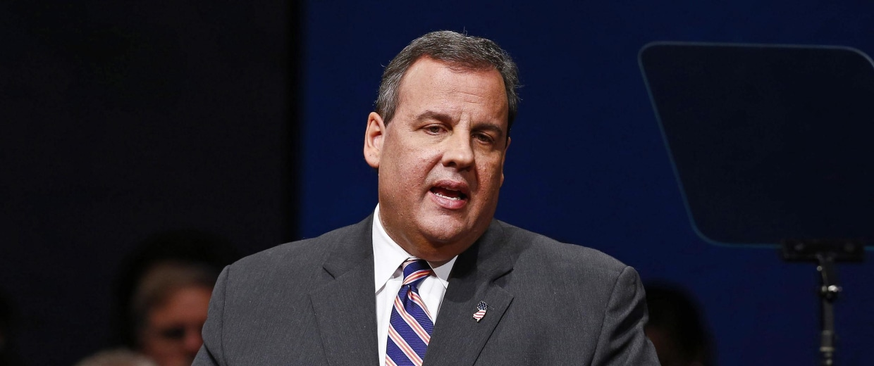 Image: Chris Christie Sworn In For Second Term As Governor Of New Jersey