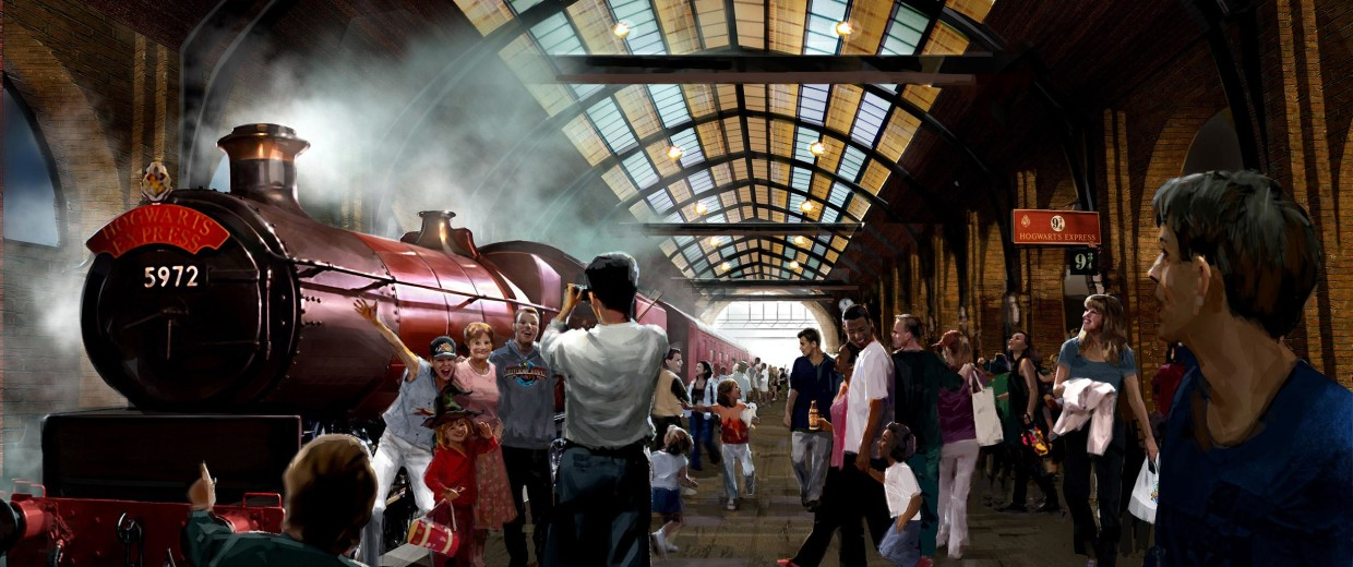 Image: Hogwarts Express train