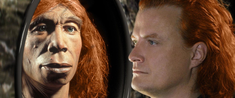 Image: Human and Neanderthal