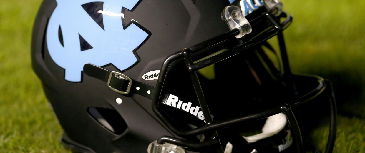 Image: North Carolina football helmet