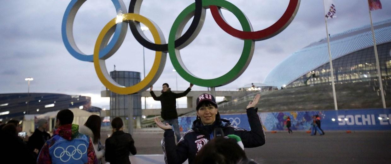 Image: Sochi volunteers