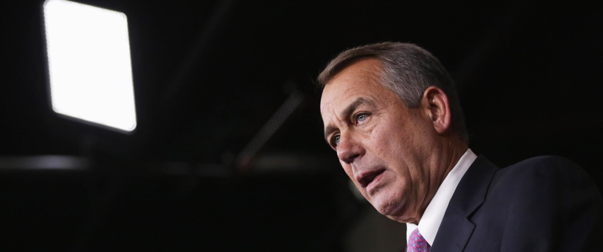 Image: BESTPIX   John Boehner Holds Media Briefing At The Capitol