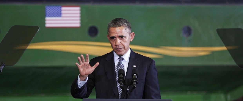 Image: President Obama Signs Farm Bill At Michigan State University