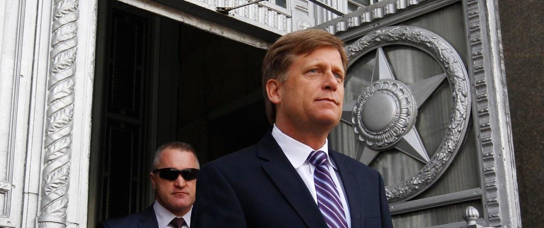 Image: Ambassador Michael McFaul