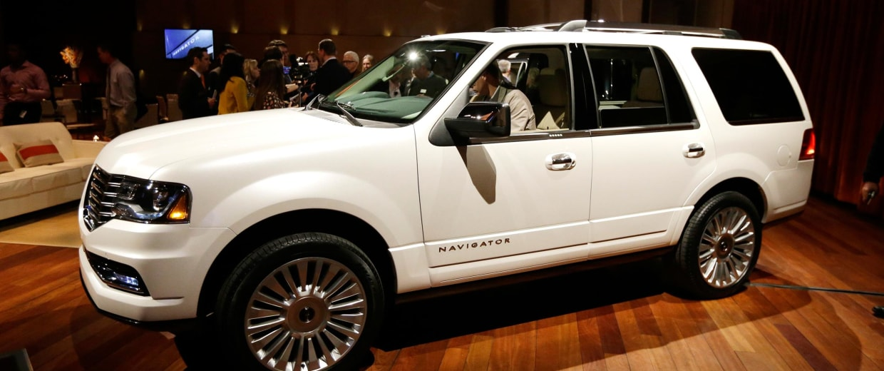 Image: The 2015 Lincoln Navigator