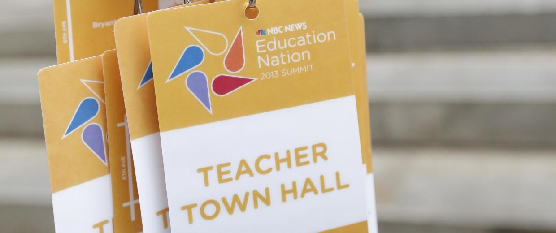 Education Nation - Press Room