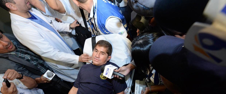 Image: Salvadorean castaway Jose Salvador Alvarenga