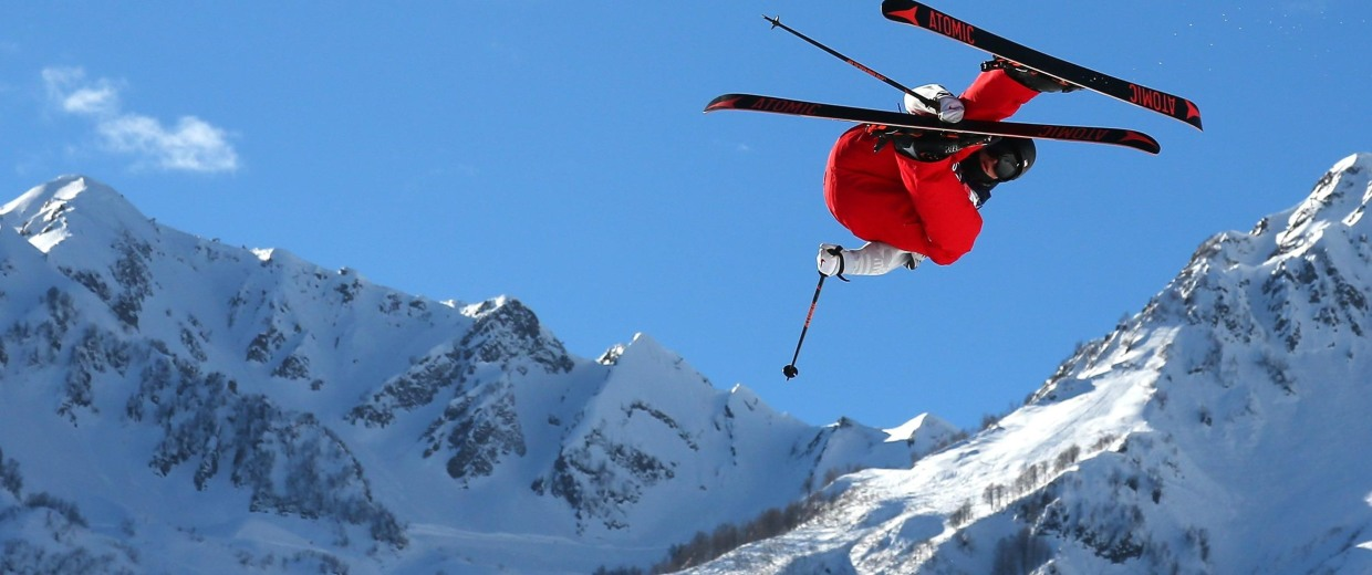 Image: Freestyle Skiing - Winter Olympics Day 6
