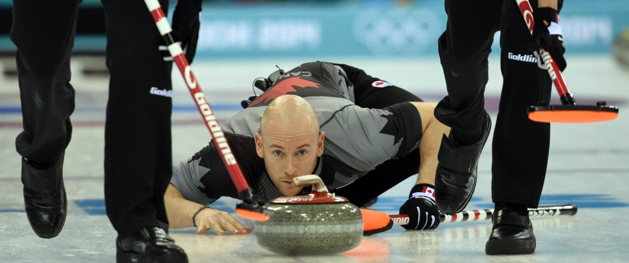 Image: OLY-2014-CURLING-MEN