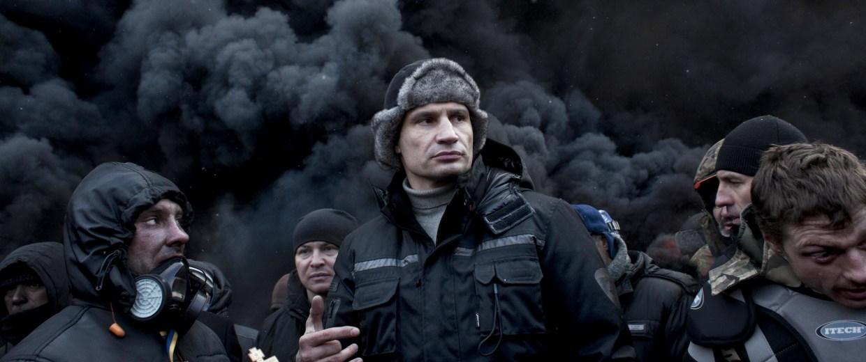 Image: Vitali Klitschko, Ukrainian opposition leader and former world champion boxer