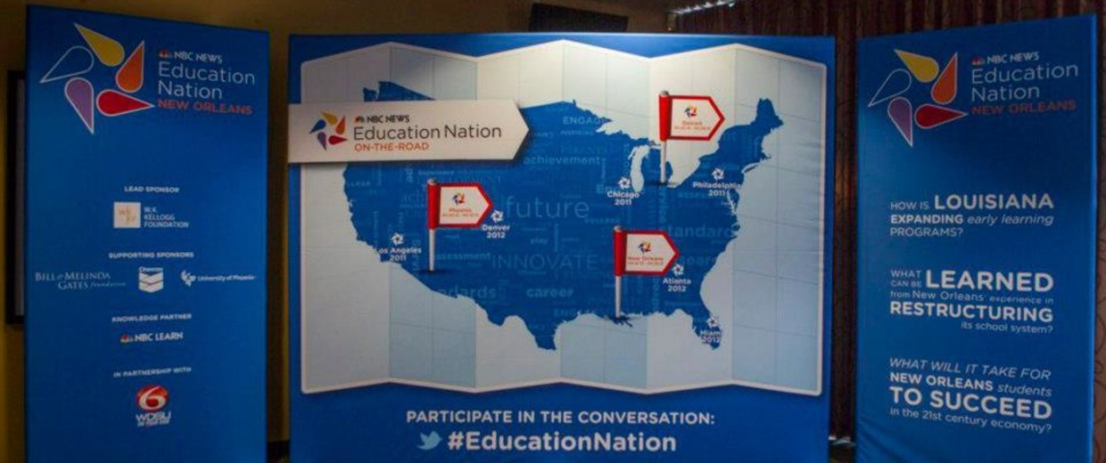 Education Nation New Orleans