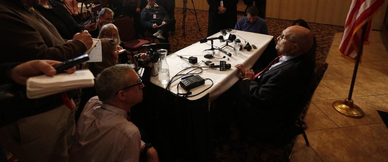 Image: U.S. Rep.John D. Dingell Jr. announces he will not seek another term in Michigan