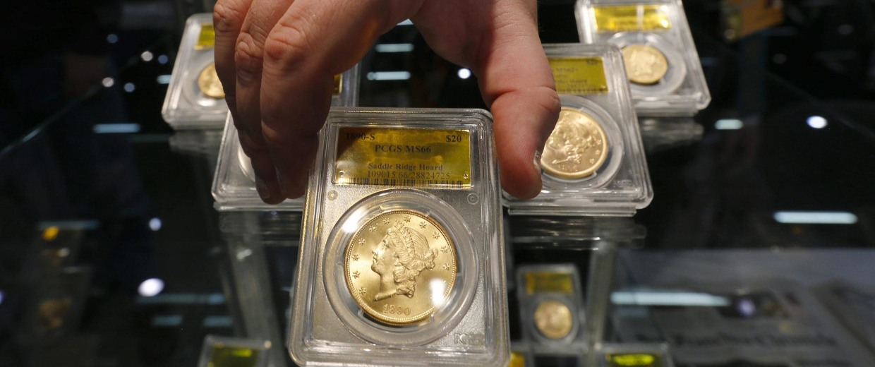 Image: California couple finds buried gold coins worth 10 million dollars