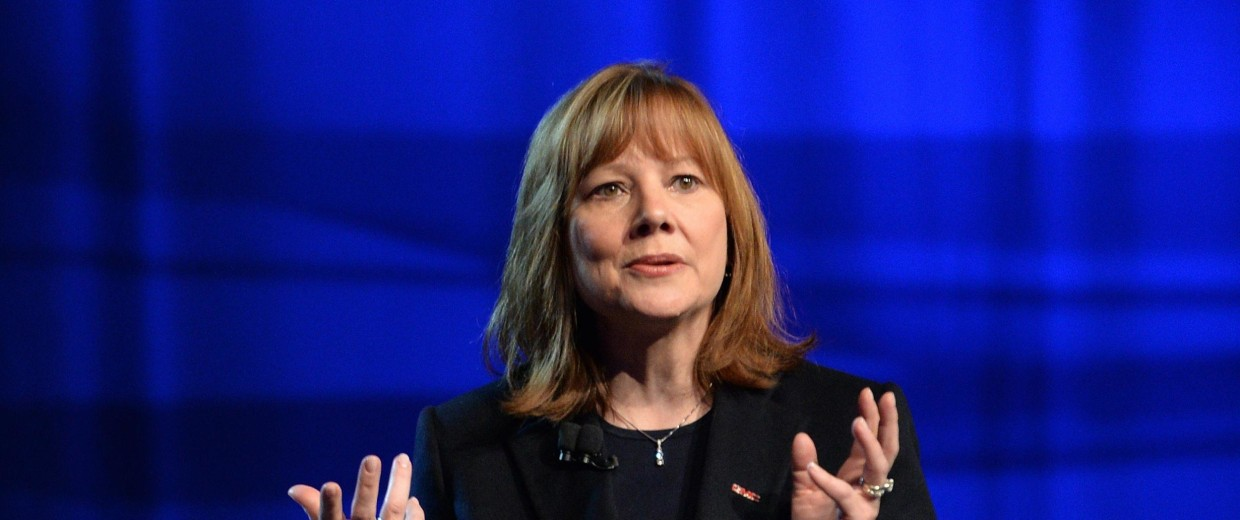Image: General Motors CEO Mary Barra
