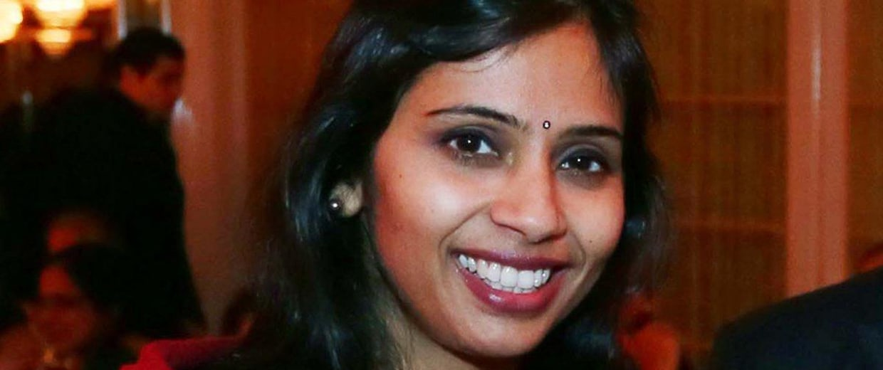 Image: File photo of Devyani Khobragade attending the India Studies Stony Brook University fundraiser event in Long Island New York