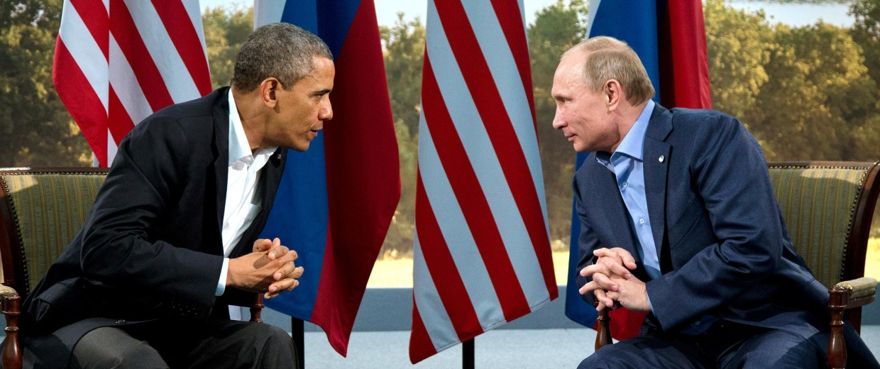 Image: President Barack Obama meets with Russian President Vladimir Putin in Northern Ireland.