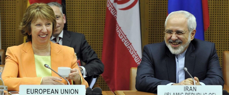 Image: NUCLEAR TALKS E3/EU+3 AND IRAN: ASHTON / ZARIF // ATOMGESPRÄCHE DER UN-VETOMÄCHTE MIT DEM IRAN: ASHTON / ZARIF