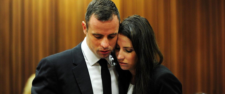 Image: Oscar Pistorius , Aimee Pistorius