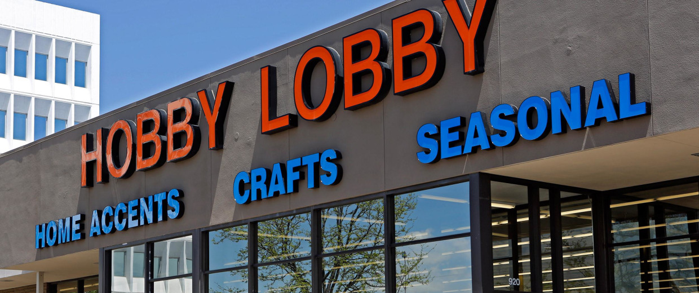 Image: A Hobby Lobby store