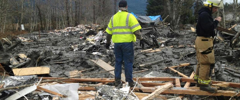 Image: Eighteen Still Missing In Washington State Mudslide