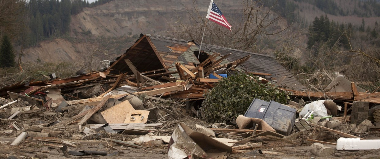 Image: Mudslide aftermath in Oso, Washington