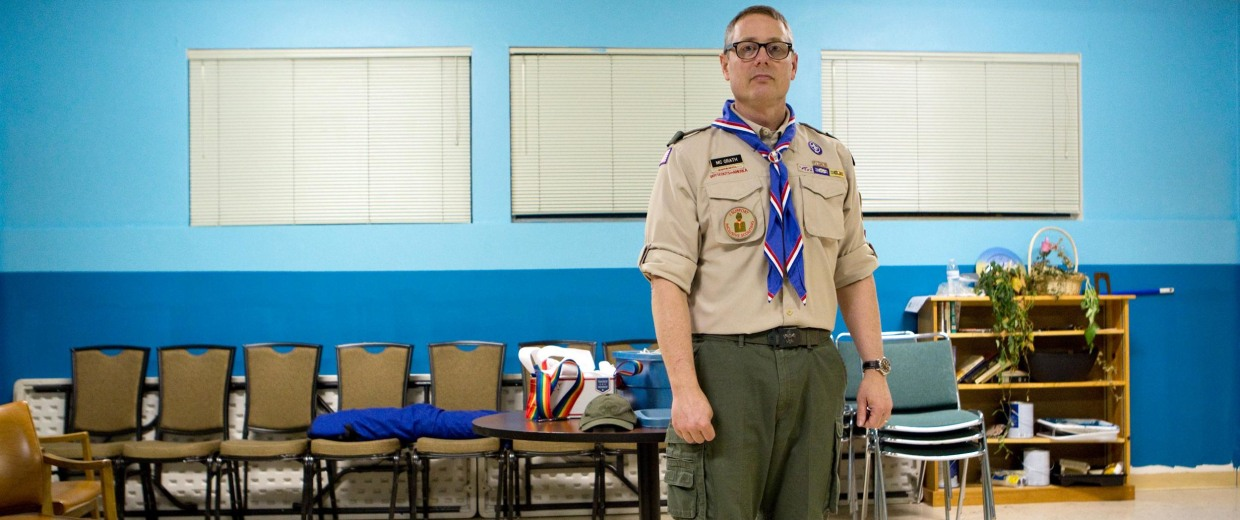 story extremely disappointing scouts boot openly troop leader