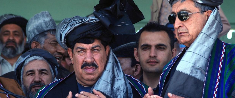 Image: Afghan presidential candidate Gul Agha Sherzai